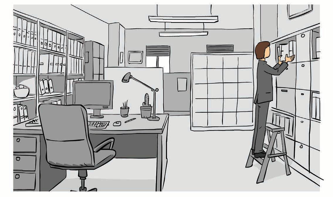 Prevención de riesgos de trabajo en oficinas